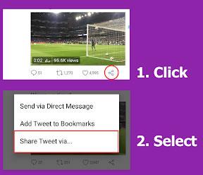 download video twitter via link